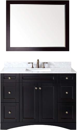Virtu USA Elise 48 inch Single Sink Bathroom Vanity Set