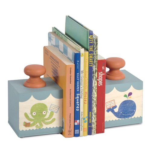 Tree by Kerri Lee Bookend Blocks, Ocean Fun BKND BLOCKS OCEAN