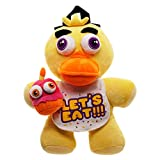 Bioworld Chica Plush Backpack Five Nights At Freddy