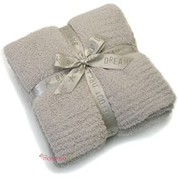 Barefoot Dreams Bamboo Chic Throw Blanket - Stone