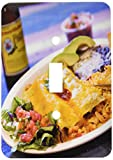 3dRose LLC lsp_89121_1 Shrimp Enchilada, Mexican Cuisine Destin, Florida Us10 Fvi0006 Franklin Viola Single Toggle Switch
