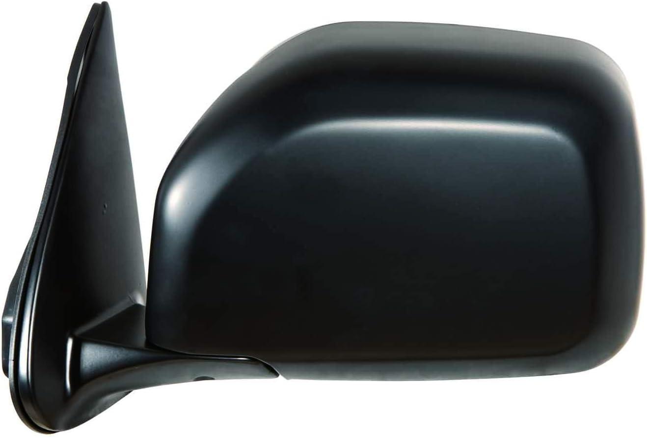 Depo 312-5401R3MD2 Flat Black Passenger Side Manual Mirror