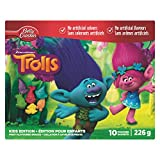Betty Crocker Trolls Fruit Snacks, 10 Pouches, 226 Gram
