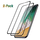 Femkeva Shop Sales Deals iPhone Xs Max Glass Screen Protector, [2 Pack] 6D Full Coverage Anti-Bubble Ultra HD 9H Hardness Tempered Glass Screen Protector Compatible for iPhone Xs Max 6.5inch 2018