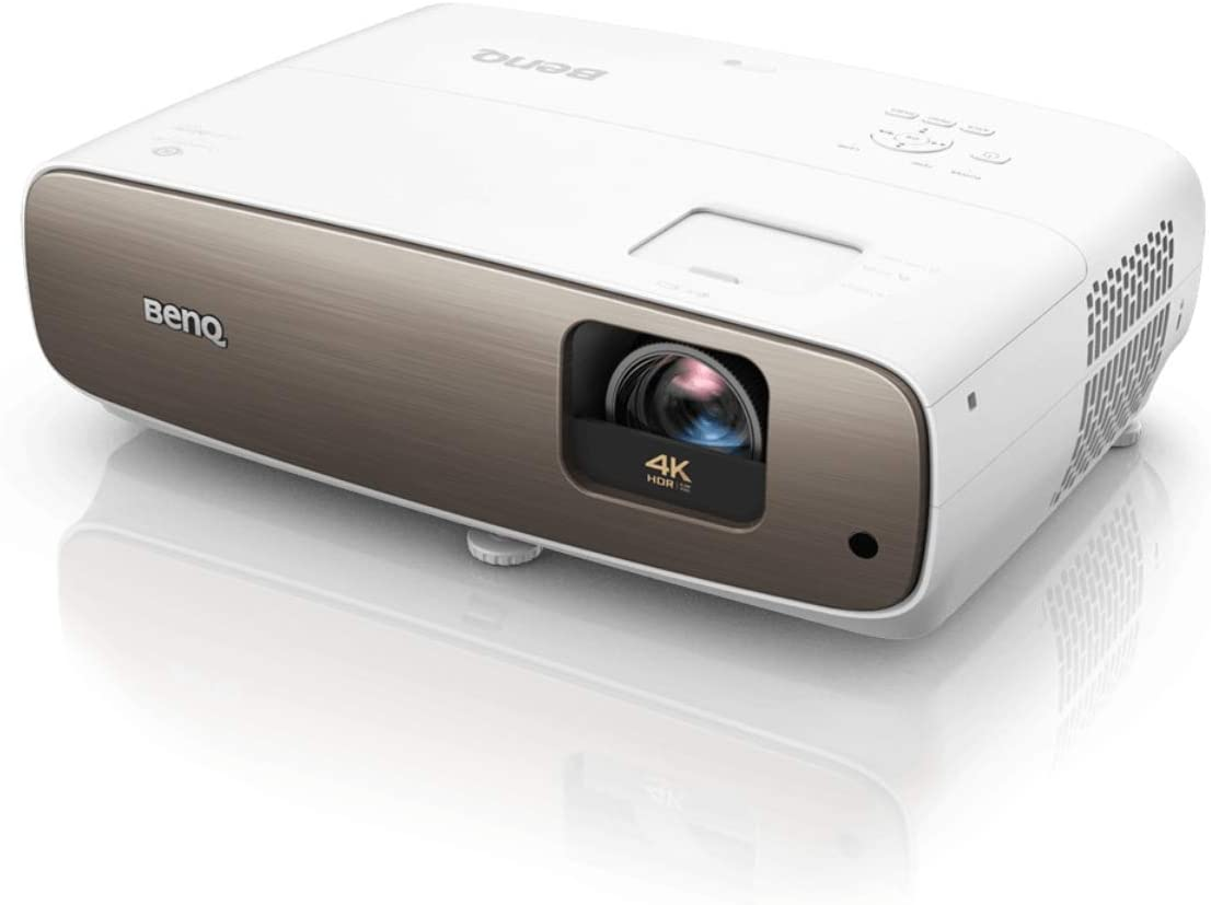 BenQ HT3550i True 4K Smart Home Theater Projector powered by Android TV - Google Play - Wireless Projection - HDR-PRO - 95 percent DCI-P3, 100 percent Rec709 - Lens shift,Keystone for Easy Setup
