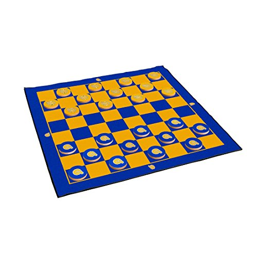 Victory Tailgate Albany State Golden Rams 2-in-1 Giant Checkers & All Weather Mat by Victory Tailgate