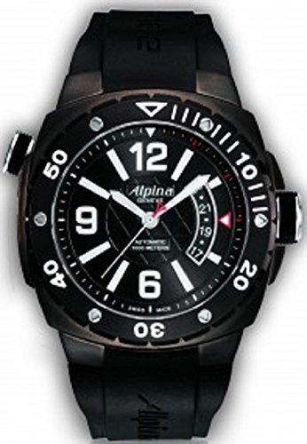 Alpina AL-525LBB5FBAEV6 - Reloj para hombres, correa de goma: Amazon.es: Relojes