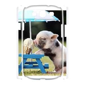 Samsung Galaxy S3 I9300 Phone Case Cute pig Q6A0458488