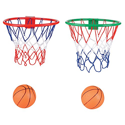 2 Pack Over The Door Basketball Hoop And Ball Toy   Party Favors, Party  Decor, Stocking Stuffers, Gift