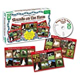 3 Pack Listening Lotto Games, Farm by CARSON-DELLOSA (Catalog Category: Paper, Pens & Desk Supplies / Teacher's Aids)