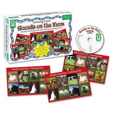 3 Pack Listening Lotto Games, Farm by CARSON-DELLOSA (Catalog Category: Paper, Pens & Desk Supplies / Teacher's Aids) by Carson-Dellosa