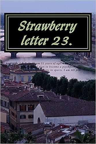 Gratis ebooks pdf para descargar Strawberry Letter 23.: Strawberry milk shakes. (The Brothers Johnsons.) (Literatura española) PDF iBook