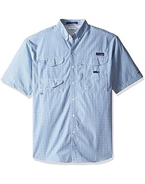 Men's Big Super Bonehead Classic Short Sleeve Shirt, Skyler Gingham, Large/Tall