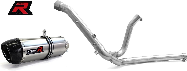DB KILLER Dominator Exhaust Silencieux /échappement SUZUKI DL 650 07-14 V-STROM OVAL
