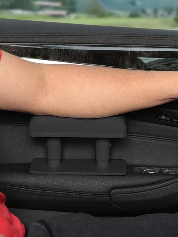 BRANDNEWS Auto Armlehne Linke Ellenbogen Halterung Universal Leder Booster Zentrale Rechte Box Einstellbare Anti-Erm/üdungs-T/ürvergr/ö/ßerungs-Pad Auto-Armst/ütze companionable