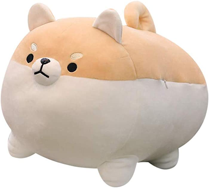 "Auspicious beginning 19.6"" Stuffed Animal Shiba Inu Plush Toy Anime Corgi Kawaii Plush Soft Pillow Doll Dog, Plush Toy Best Gifts for Girl Boy"