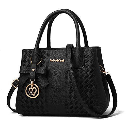 Handbags for Women Fashion Ladies Purses PU Leather Satchel Shoulder Tote Bags by Jeniulet