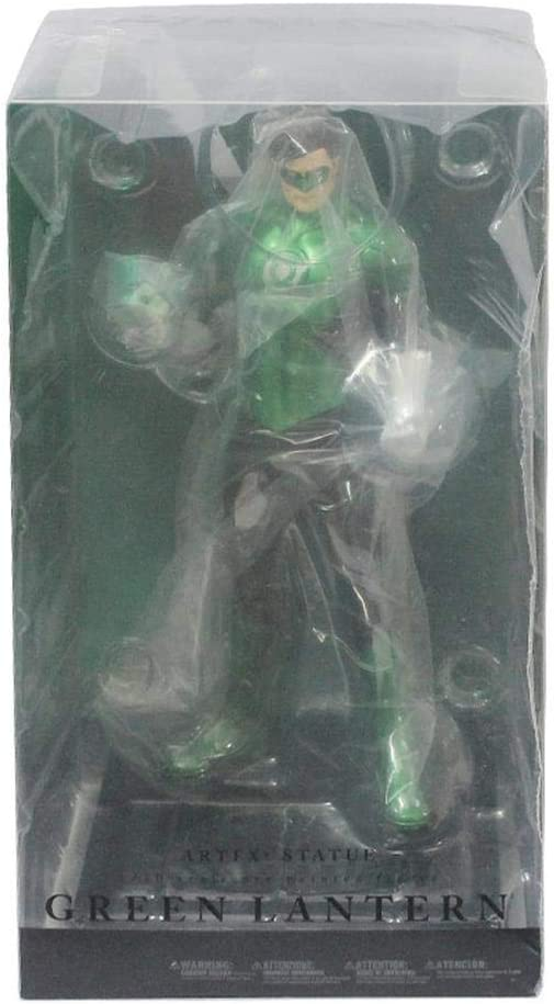 BINGFENG Anime Figuren Green Lantern Modell Statue Anime Spielzeug PVC Sammler Puppe Spielzeug Geschenk F/ür Kinder Und Anime Fans 18CM