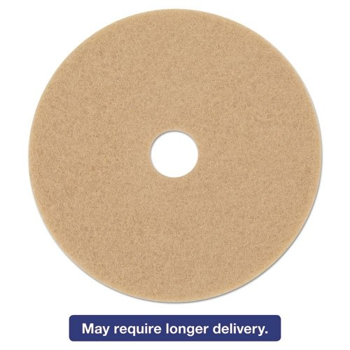 - 3M Ultra High-Speed Floor Burnishing Pads 3400, 17-Inch, Tan