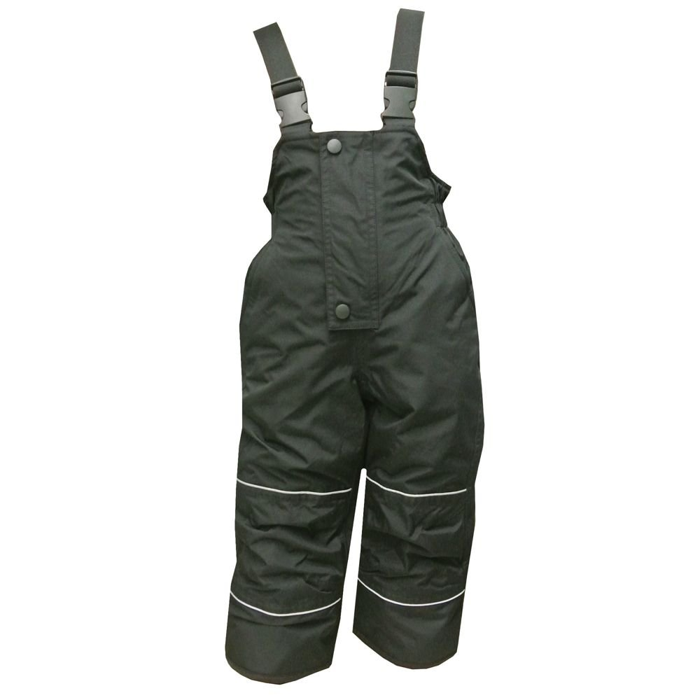 Outburst - Boys ski pants snow pants breathable Waterproof 10,000 mm, black
