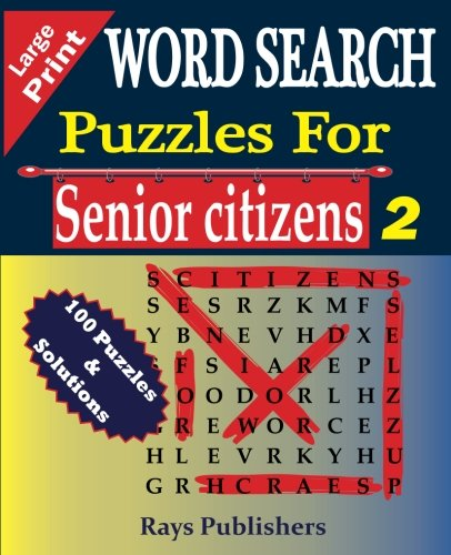 WORD SEARCH Puzzles for Senior Citizens (Large Print) (Volume - Ray Search