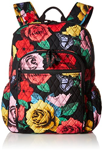 Keep Charged Campus Tech Backpack Messenger Bag, Havana Rose, One Size by Vera Bradley