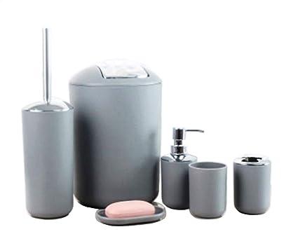 Scopino Da Bagno Design : Gmmh set di accessori da bagno con dispenser per sapone