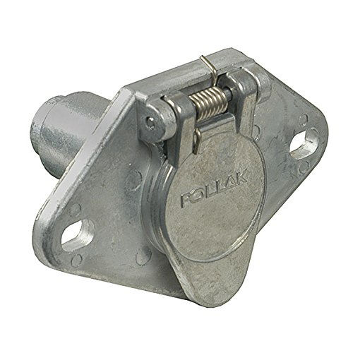- Pollak 11-404EP Metal 4-Way Round Zinc Connector Socket