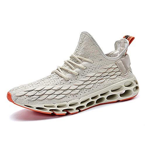 FUSHITON Mens Athletic Walking Blade Running Tennis Shoes Fashion Sneakers