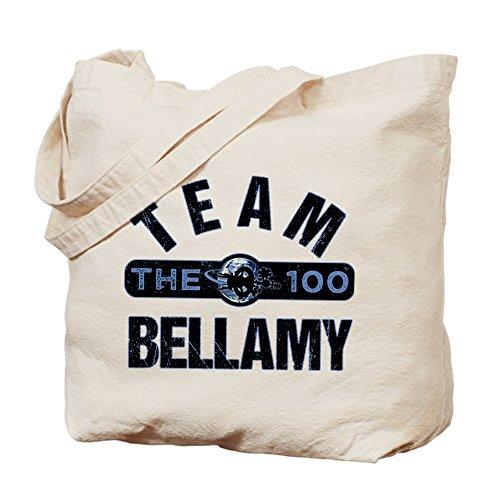 CafePress–Il Team 100Bellamy–Borsa di tela naturale, panno borsa per la spesa