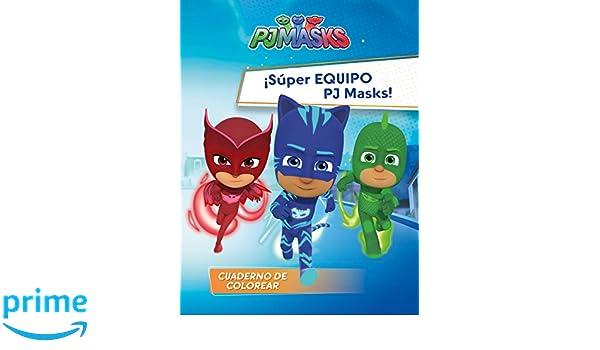 ¡Súper Equipo PJ Masks! (PJ Masks. Actividades): Amazon.es: Varios autores, Adosaguas Sayalero SLU;: Libros
