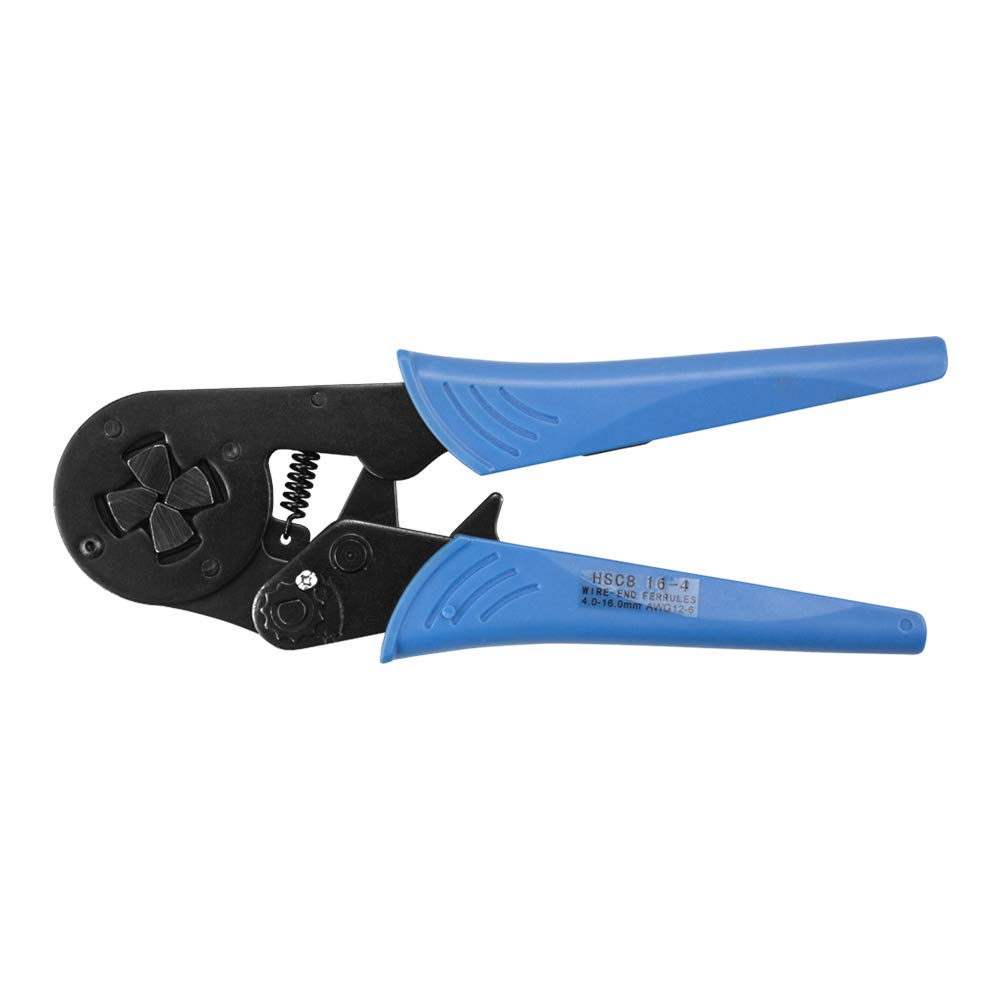 Dechengbao HSC8 16-4 Kabeldraht Crimpzange mit pr/äziser Crimpzange 4-16mm2 AWG 12-6