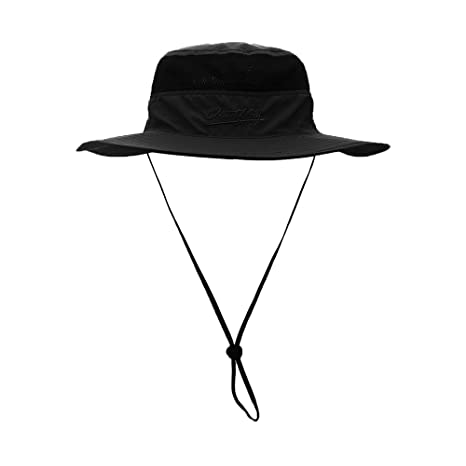 438293c8785 Image Unavailable. Image not available for. Color  FayTop Unisex Sun Hat UPF  50+ boonie Hat Adjustable Outdoor Fishing Hat Bucket Hats Wide