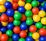 Multi-coloured Kids Balls Children's Plastic Toy Ball Pits Pool 200 per pack By HOME HUT