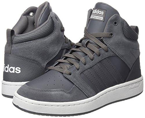 Gricua Hoops Balcri Gris Pour Cf gricua Mid Adidas Super Hommes Baskets EZzqnO7