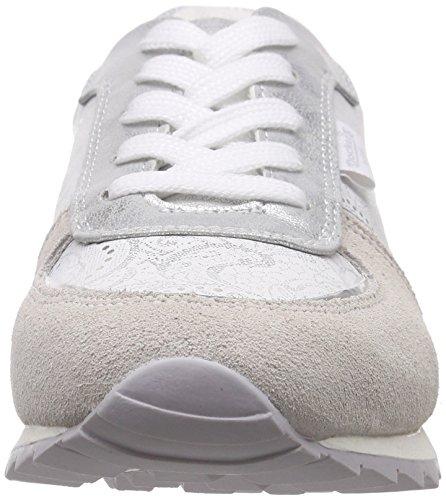 Dockers by Gerli 38ml202-206 - Zapatillas Mujer Blanco - Weiß (offweiss 510)