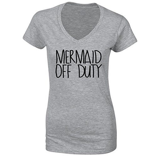 MERMAID Of Duty Hipster Funny Quote Damen T-Shirt