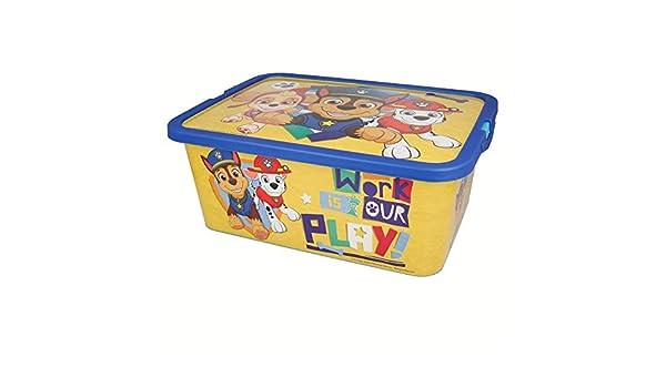 Stor Caja Click 13 L   Patrulla Canina Boy Plain: Amazon.es: Juguetes y juegos