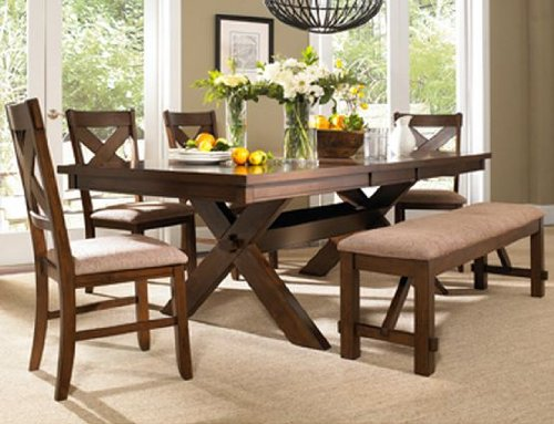 6-Piece Wd Kraven Dining Set By Powell