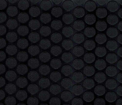 BLT G-Floor NEW Small Coin 60 Mil 10ft x 24ft Midnight Black ()
