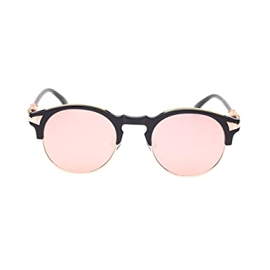 f41bfb3b337 Image Unavailable. Image not available for. Colour  Haodasi Male and female  round retro toad sunglasses