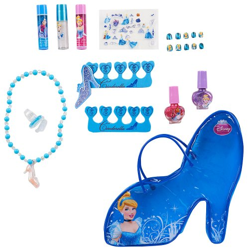Disney Princess Cinderella Slipper Cosmetic Bag (Cinderella Makeup)