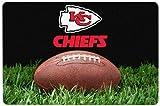 NFL Kansas City Chiefs Classic Football Pet Bowl Mat, Large