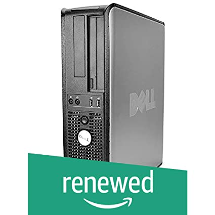 (Renewed) Dell Optiplex 755 Desktop (Core 2 Duo/2GB/160GB/DOS/Integrated  Graphics), Black/Silver [Discontinued by Manufacturer]