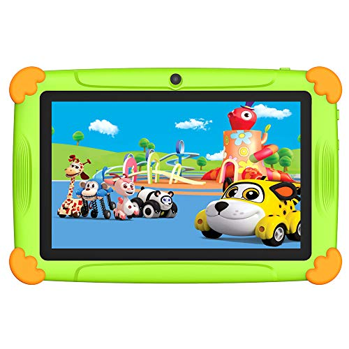 🥇 Tablet niños con Wifi 3 GB Ram 32 GO Rom Tablet para niños 7 pulgadas Android-Google Play y control parental