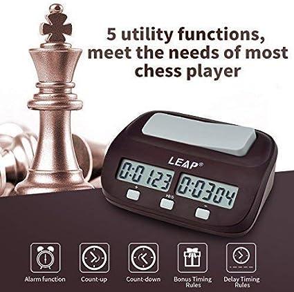 Brown Pursun Digital Digital Chess Clock