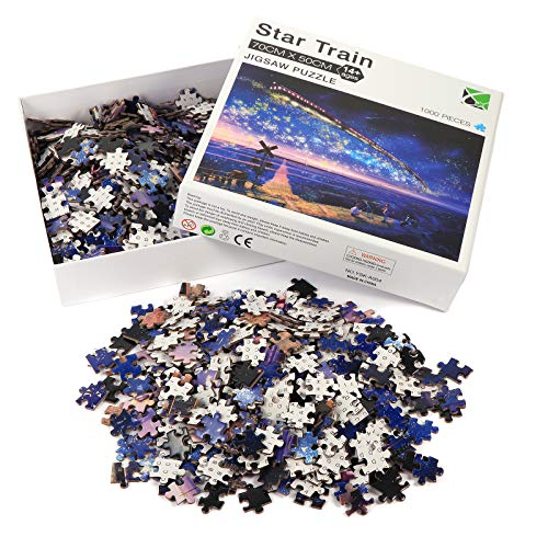 1000 Piece Jigsaw Puzzles for Adults and Teens with Storage Bins