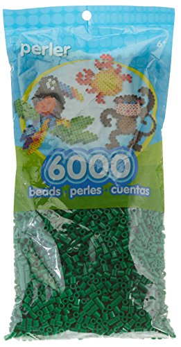 (Perler Beads Fuse Beads for Crafts, 6000pcs, Dark)