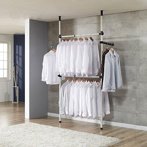 Drying Racks Floor Hangers Top-down Coat Rack Bedroom Shelf