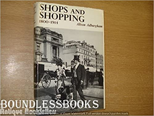 Book Shops and Shopping, 1800-1914